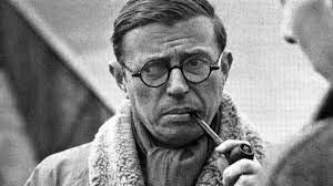 """Jean Paul Sartre publico """"El existencialismo es un humanismo"""""""