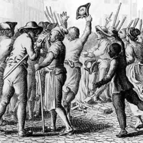 Protest of the Stamp Act
