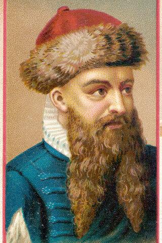 Johannes Gutenberg (1398 - 1400)