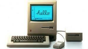 Aparece la computadora Macintosh