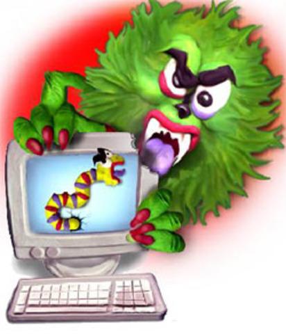 Primer virus informático.