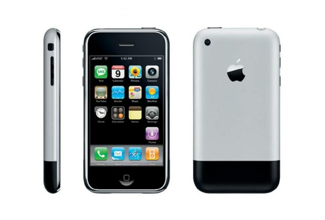 El primer iphone