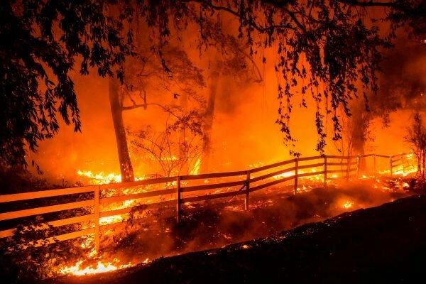 Incendi a Califòrnia