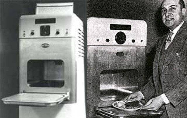 La invención de el microondas