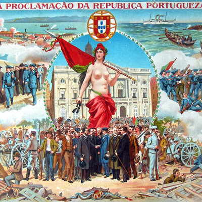 História de Portugal 1580-1910 timeline