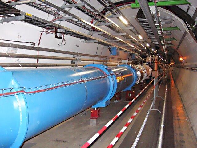 Posada en funcionament de l'LHC