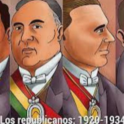 Gobiernos Republicanos (1920 -1932) timeline