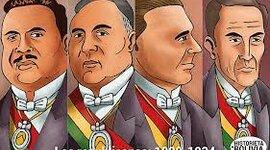 GOBIERNOS REPUBLICANOS (1920 - 1932) timeline