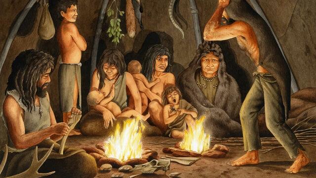 descubrimiento del fuego / Homo erectus