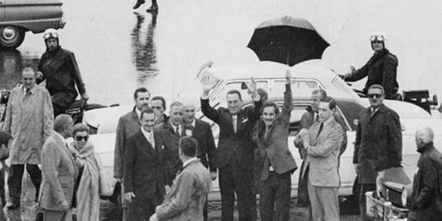 Retorno de Perón a Argentina.