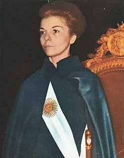 Gobierno de María Estela Martínez de Perón.