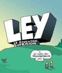 LEY DE EDUCACIÓN SUPERIOR N° 24. 591