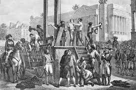 Maximilien Robespierre's execution
