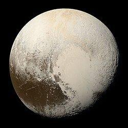 En aquest any van posar a Plutó en la categoria de planetes nans