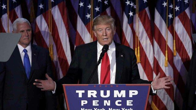 Donal Trump es elegido presidente de los Estados Unidos