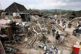 Terretrèmol a Indonesia