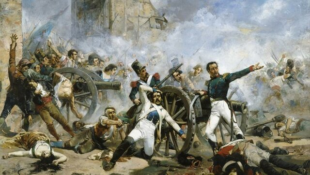 The uprising against the French