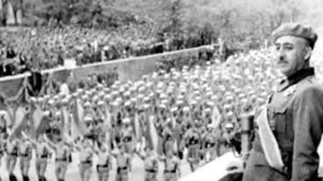 El inicio de la guerra civil española