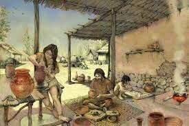cestería y alfarería