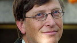 Bill Gates Contributions to Community timeline