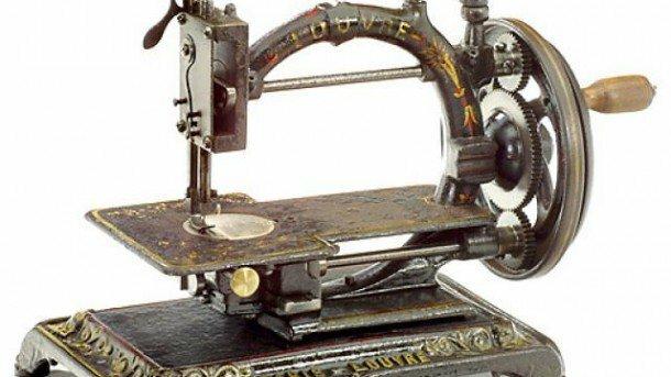 Howe patento la máquina de coser