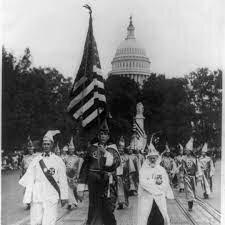 Rise of KKK (early 20thcentury)