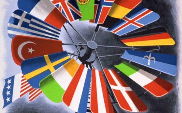 info: dominotheorie en Marshallplan