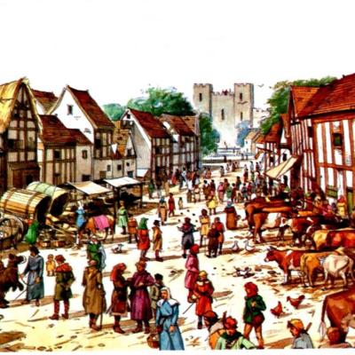 Etapes de l'edat mitjana timeline