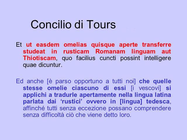 Concilio di Tours