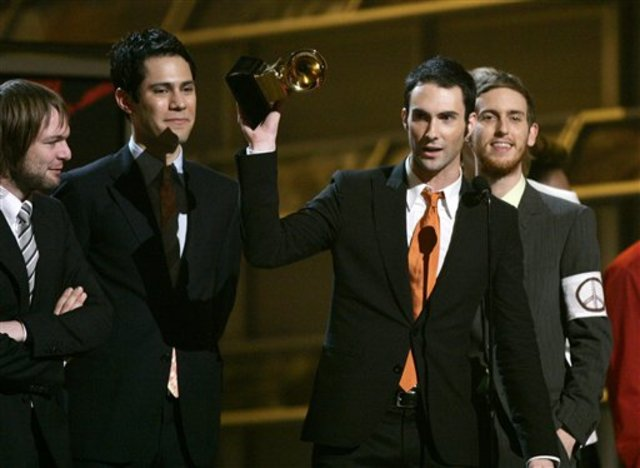 Maroon 5 Wins Grammy