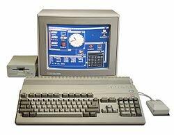 Ordenadores de quinta generacion. Commodore Amiga 500