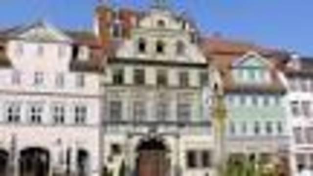 Begins Study at University of  Erfurt