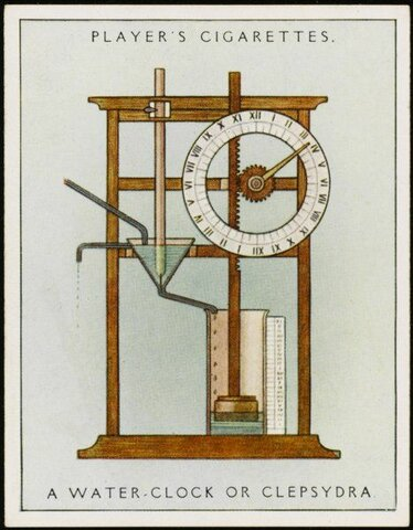 Invention of the Water clock