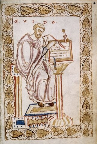 Guido de Arezzo. (992-1033).