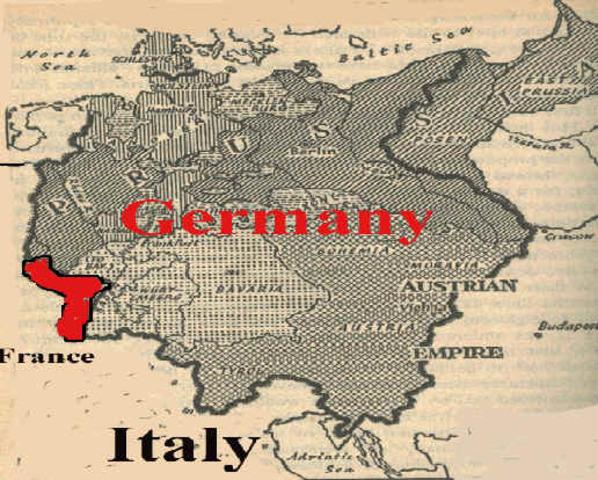 Germany creates Alsace Lorraine Territory