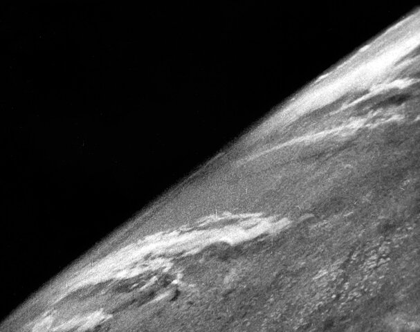 Fisrt photo of Earth