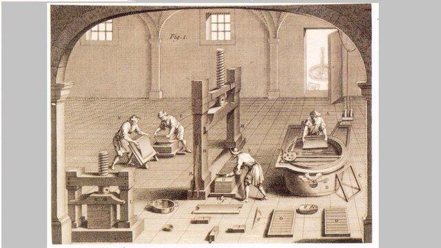 Les primeres fabriques de paper a Espanya
