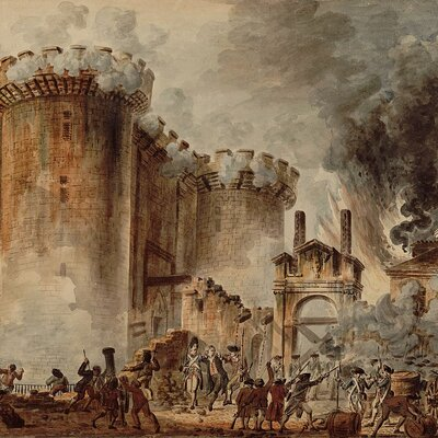 Revolución francesa-Napoleón timeline