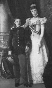 Inicio Reinado Alfonso XIII