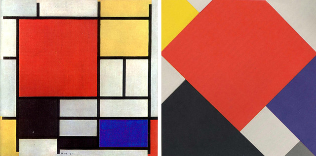Mondrian y Theo Van Doesburg