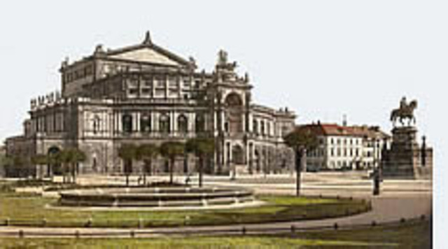 Teatro de la Ópera, Dresden