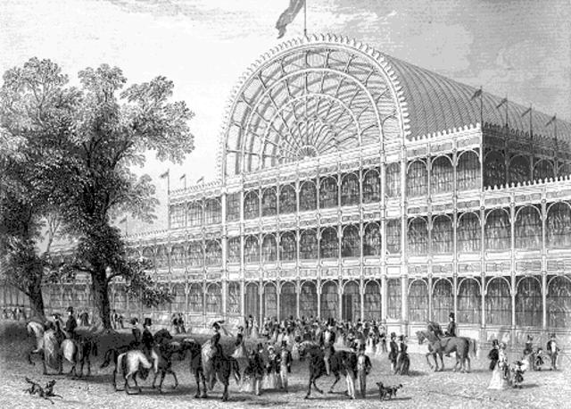 El Palacio de Cristal [Londres]