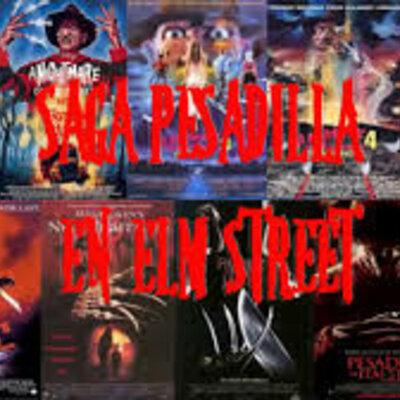 Pesadilla en Elm Street Saga de películas timeline