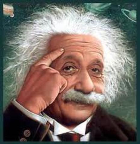 Albert Einstein theory began