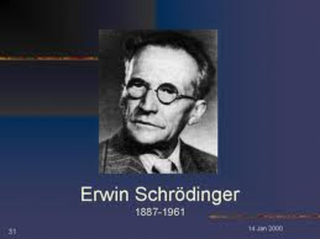 Erwin Schrodinger's Theroy began