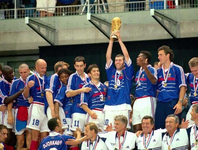 Copa do mundo de 1998.