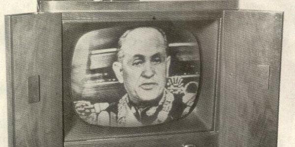 Televisión comercial.