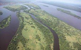Desembocadura do Río Congo