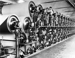 primera maquina per fabrica pape