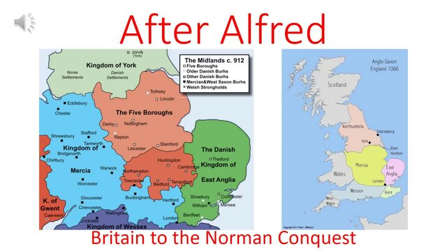 England after Alfred.